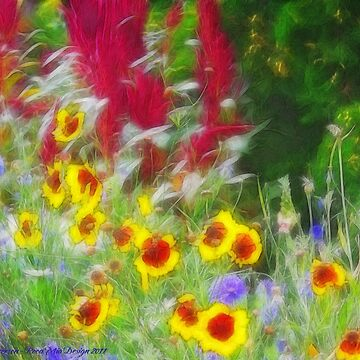 Country Garden by rocamiadesign