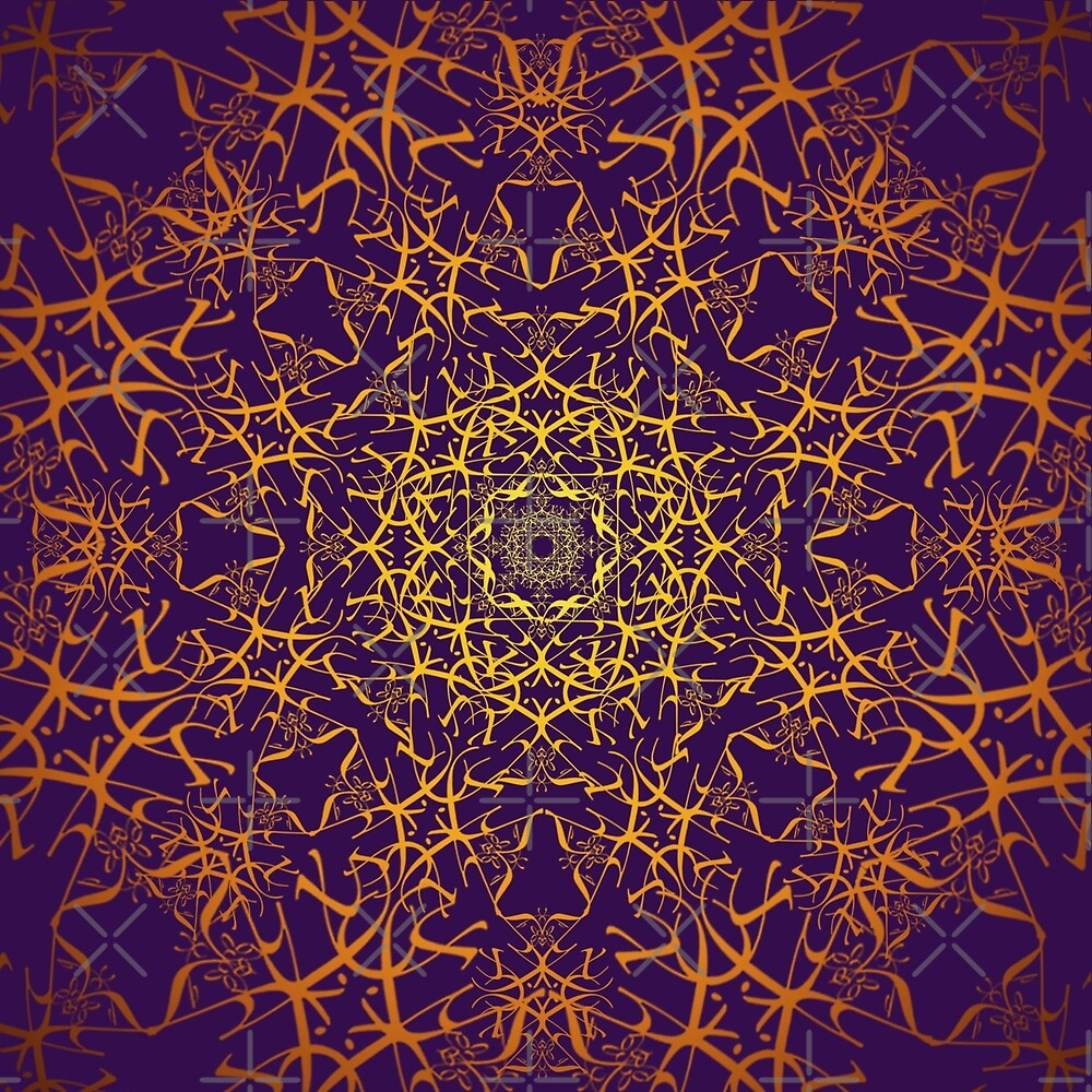 Radial Pattern by Dapperkitty37