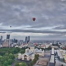 Hot Air Balloon Flight over Melbourne & Carlton by JenniferW