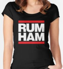 Rum Ham - Always Sunny in Philadelphia Women's Fitted Scoop T-Shirt