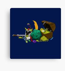 Dungeons & Dragons Loot Canvas Print
