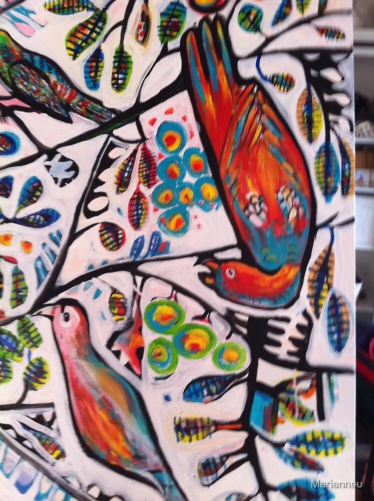 bird by Marianneu