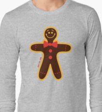 Christmas Cookie Man Long Sleeve T-Shirt