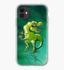 Dancing Tyrannosaurus Rex iPhone Case