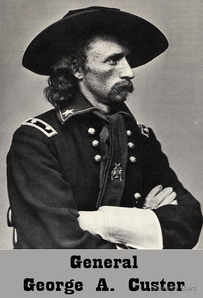 General George Custer by Lawrence Baird