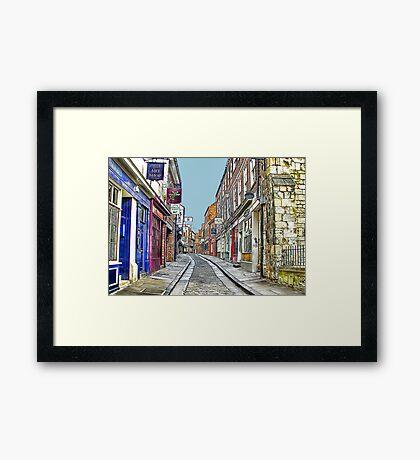 The Shambles - York Framed Print