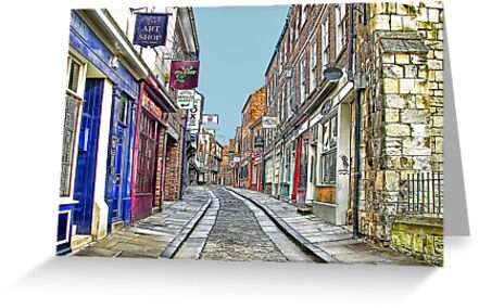The Shambles - York by Trevor Kersley