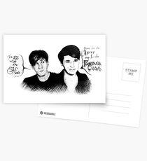 Dan & Phil Postkarten