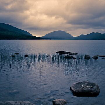 Storm Gathering at Eagle Lake, Maine by PHLBike