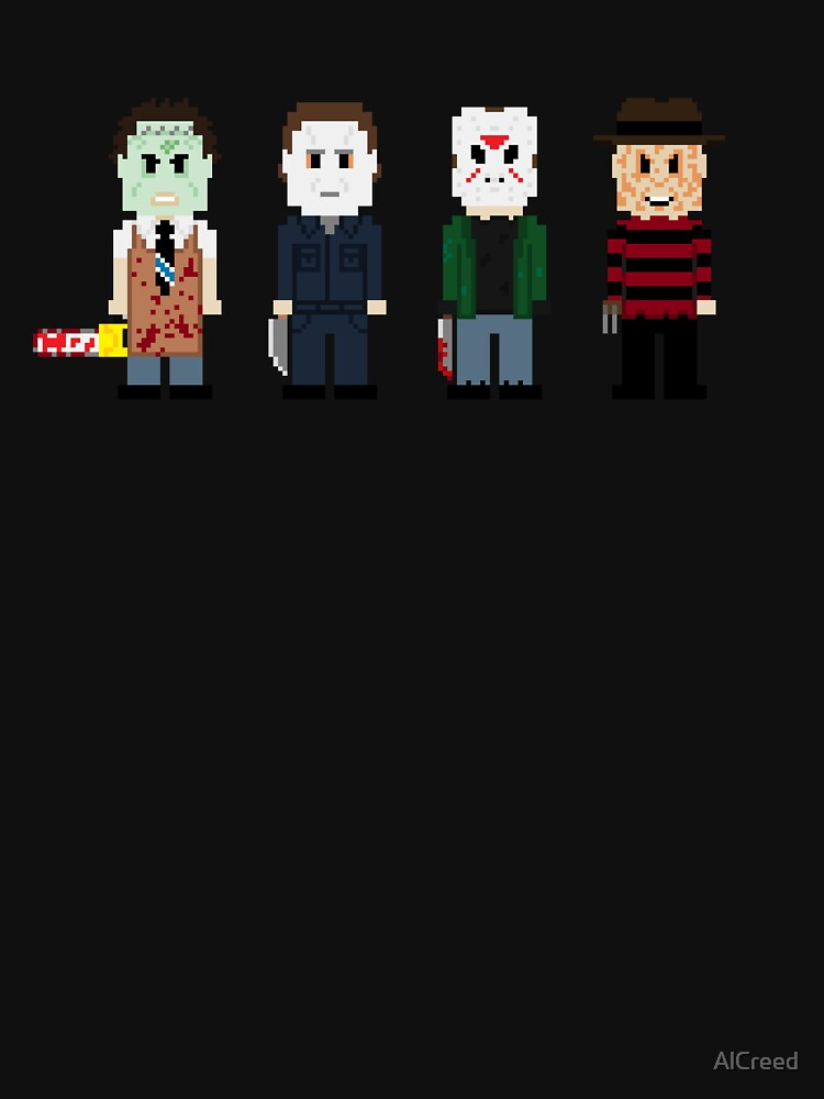 8-Bit Monsters! by AlCreed