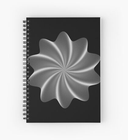 Polar Flower V Spiral Notebook