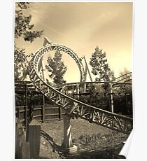 Thorpe Park Rollercoaster Poster