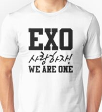 'EXO Saranghaja! We Are One' Unisex T-Shirt