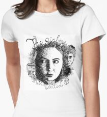 The Girl Who Waited Women's Fitted T-Shirt