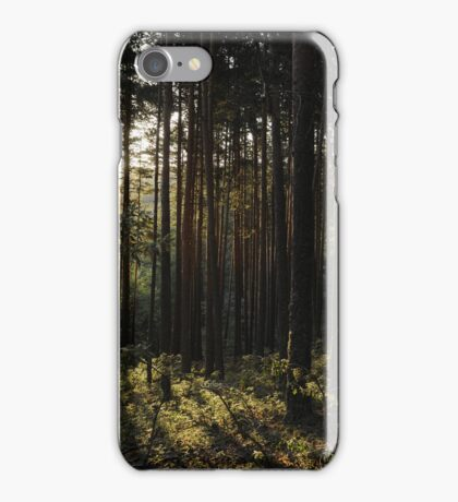 Carcasa iPhone bosque de pinos / iPhone case pine forest iPhone Case/Skin