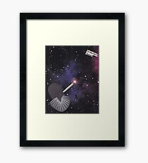 Smoking Space Framed Print