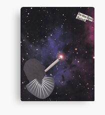 Smoking Space Canvas Print