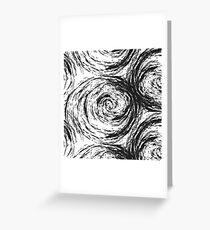 Swirl Swirl Swirl Greeting Card