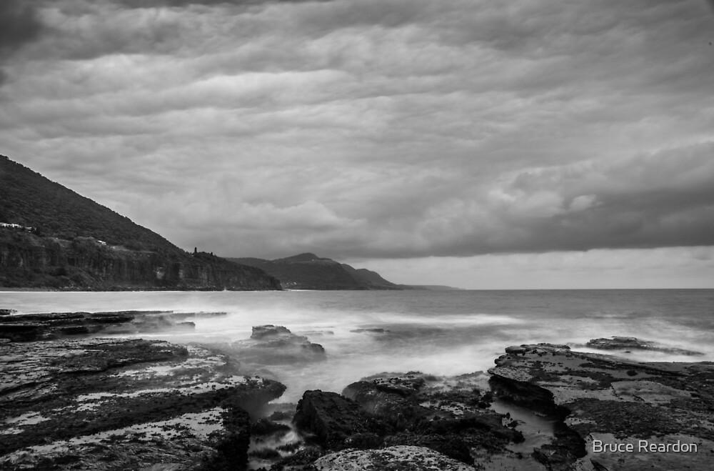 Coalcliff Cloudy Dawn by Bruce Reardon