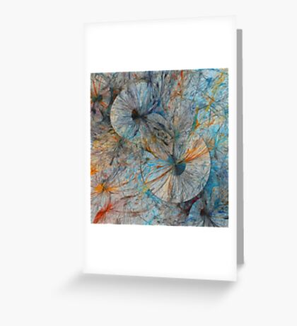 Explosionisms Greeting Card