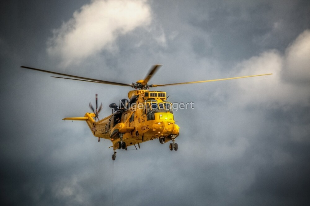 Westland Sea King HAR3A ZH544 by Nigel Bangert