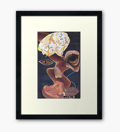 'Defaced' Framed Print