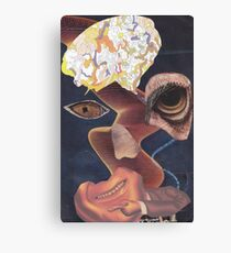 'Defaced' Canvas Print