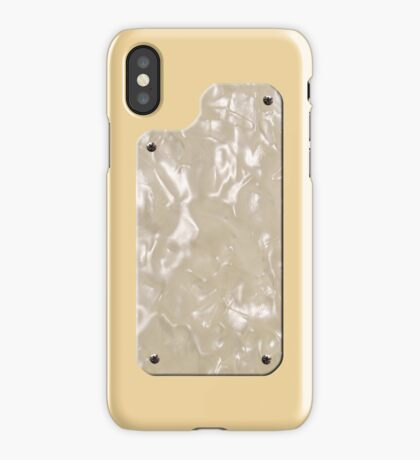 Vintage Creme (Aged White) with Pearloid iPhone Case/Skin