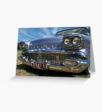 Pontiac Strato Chief Greeting Card