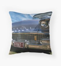 Pontiac Strato Chief Throw Pillow