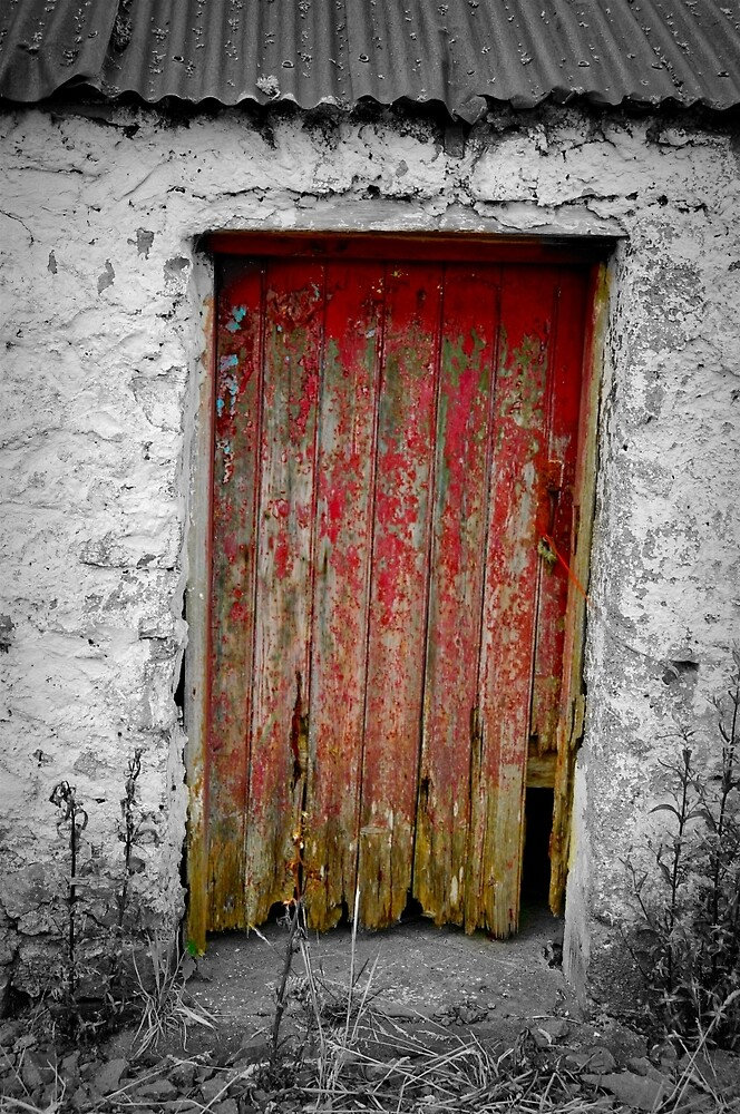 The Old Red Door by Gina Dazzo