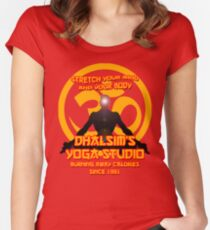 Dhalsims Yoga Studio Women's Fitted Scoop T-Shirt