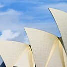 THE OPERA HOUSE SAILS by Ronald Rockman