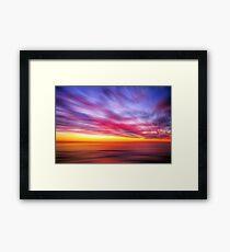 ~ Dawn Fireworks ~ Framed Print