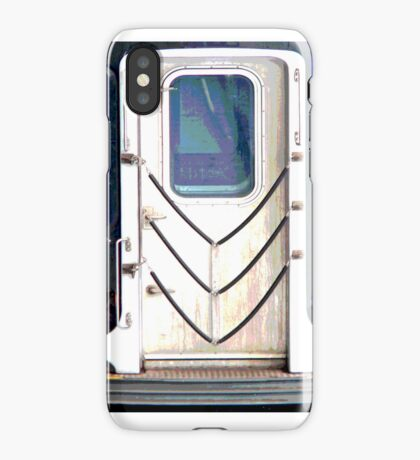 nyc subway iPhone Case/Skin