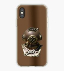 Diver Hard Hat iPhone case iPhone Case