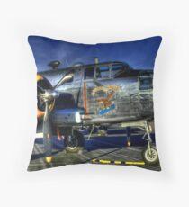 Yankee Warrior Throw Pillow