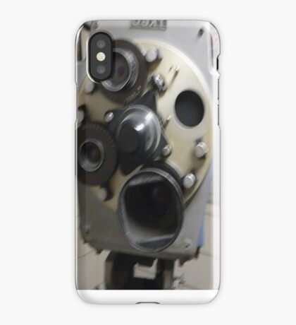 TV camera iPhone Case/Skin