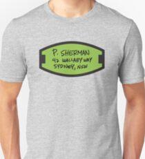 Camiseta unisex P. Sherman