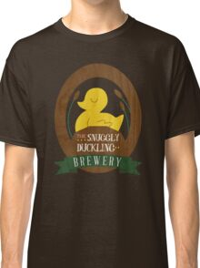 The Snuggly Duckling Brewery Classic T-Shirt
