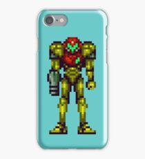 super metroid samus iPhone Case/Skin