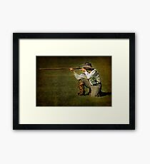 The Frontiersman Framed Print