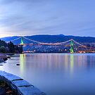 Lions Gate Bridge by ClaytonPerry