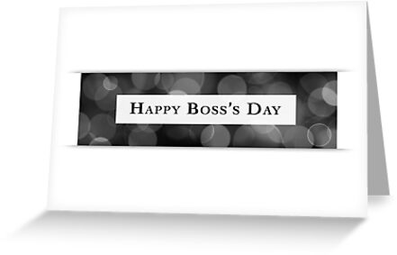 happy boss's day by maydaze