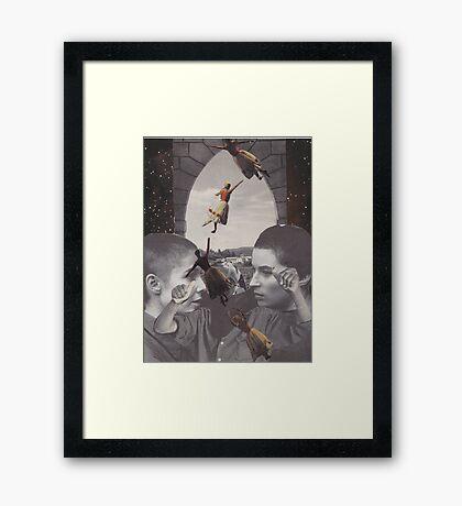 'Away I Go' Framed Print