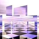 Cubic Reflections V by Hugh Fathers