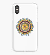 Modernist Art Mandala n1 iPhone Case