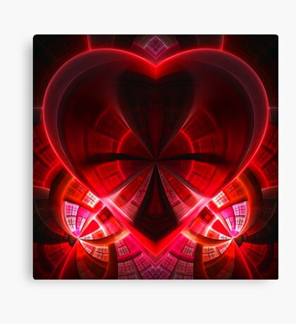 heart / red Canvas Print