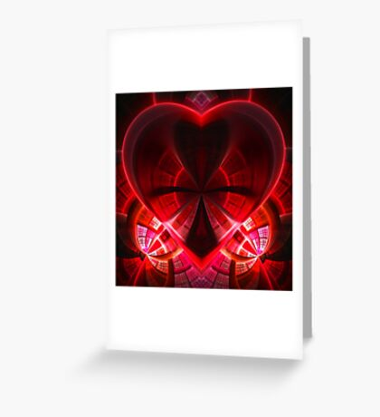 heart / red Greeting Card