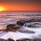 Choppy sunrise by Ryan O'Donoghue